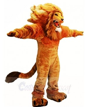 Fierce Lion King Mascot Costumes Animal
