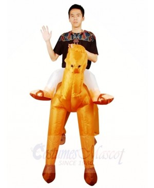 Ride on Camel Inflatable Halloween Christmas Costumes for Adults