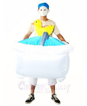 Bathtub Swimming Pool Carry on Inflatable Halloween Xmas Costumes for Adults