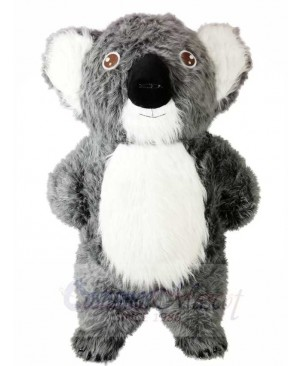 Grey Koala Bear Mascot Costumes Animal