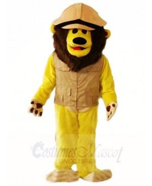 Brown Lion Mascot Costumes Animal