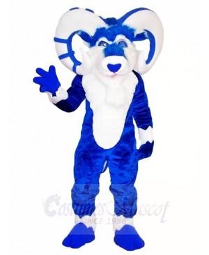 Blue Ram Mascot Costumes Farm Animal