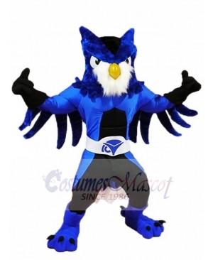 Royal Blue Owl Mascot Costumes Animal