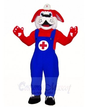 Red Cross Dog Mascot Costumes Animal