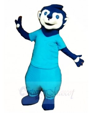 Blue Meerkat Mascot Costumes Animal