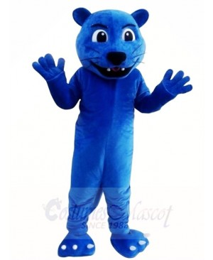 Blue Leopard Panther Mascot Costumes Animal