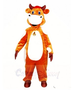 Lovely Cow Mascot Costumes Animal