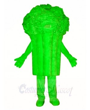 Broccoli Mascot Costumes Vegetables Plant