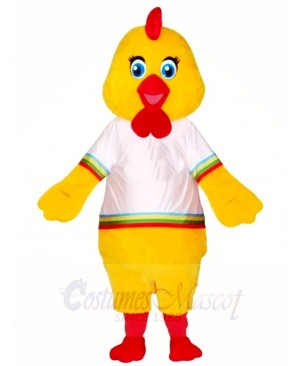 Yellow Baby Chick Mascot Costumes Poultry