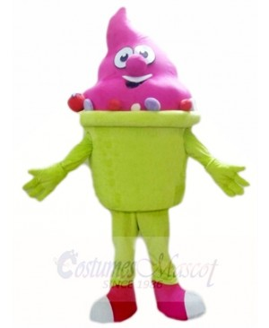 Summer Ice Cream Mascot Costumes Snack Dessert