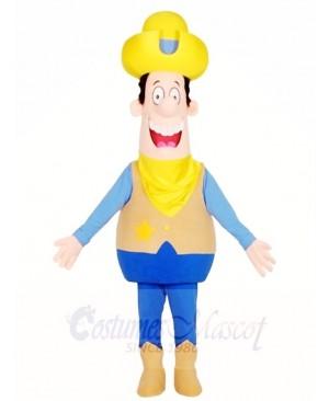 Cartoon Cowboy Mascot Costumes People