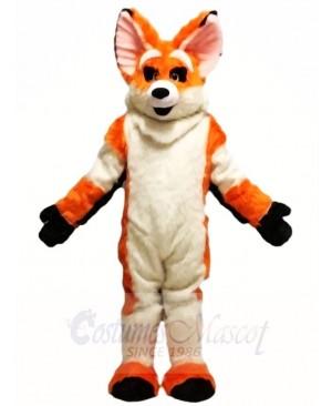 Orange Husky Dog Fursuit Fox Mascot Costumes Animal