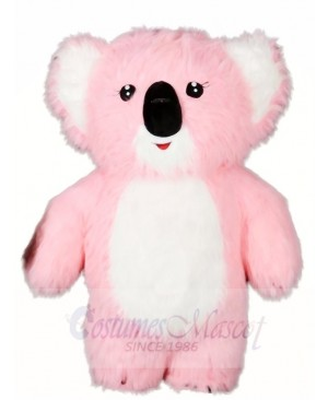 Pink Koala Bear Mascot Costumes Animal