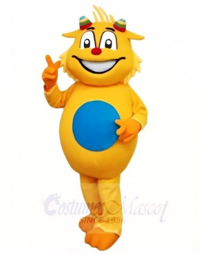 Yellow Dragon Mascot Costumes Animal