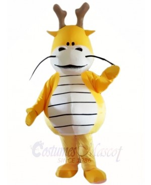 Yellow Dragon King Mascot Costumes