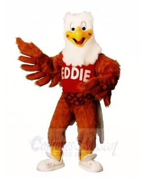 Brown Eddie Eagle Mascot Costumes Animal