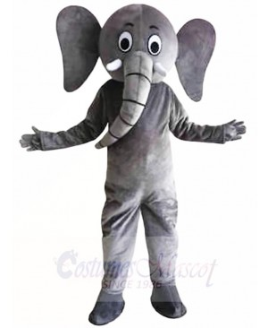 Gray Elephant Mascot Costumes Animal