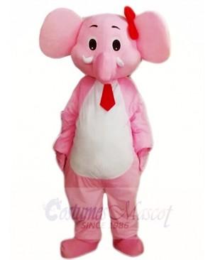 Pink Elephant Mascot Costumes Animal
