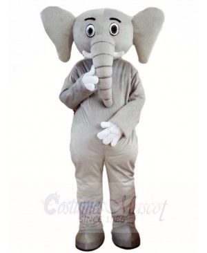 Grey Elephant Mascot Costumes Animal
