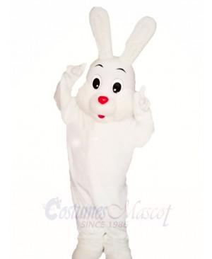 White Easter Bunny Rabbit Mascot Costumes Animal