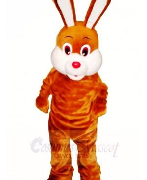 Brown Easter Bunny Rabbit Mascot Costumes Animal