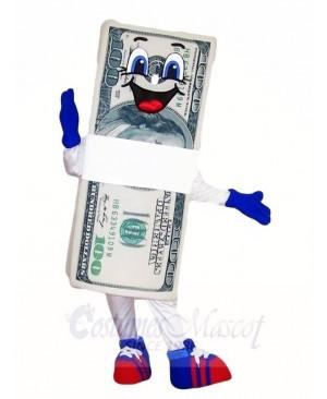 Dollar Bill Mascot Costumes