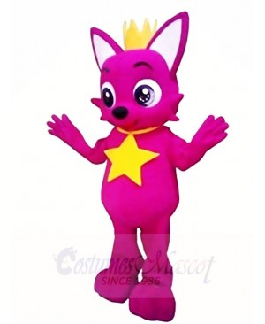 Rose Fox Pinkfong Mascot Costumes Animal