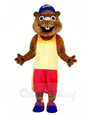 Gopher in Sports Suit Mascot Costumes Animal