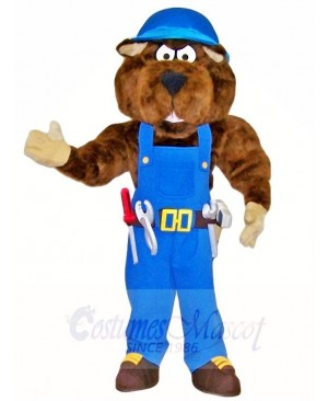 Gopher Construction Worker Builder Mascot Costumes Animal