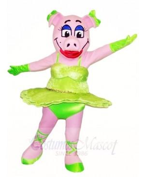 Pig Sow Mascot Costumes Farm Animal