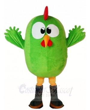 Green Bird Mascot Costumes Animal