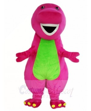 Barney & Friends Purple Dinosaur Mascot Costumes Cartoon