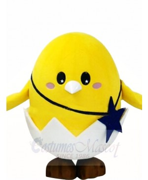 Chick In Egg Mascot Costumes Poultry
