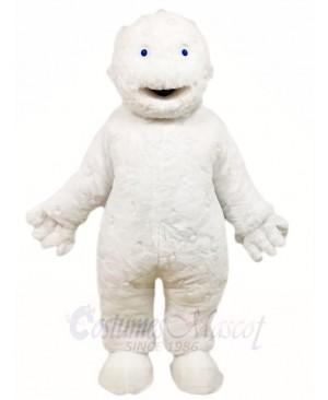 White Bubbleman Mascot Costumes People