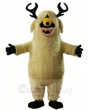 One Eye Deer Monster Mascot Costumes Animal