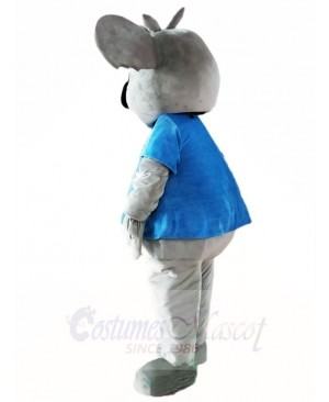 Blue Shirt Koala Bear Mascot Costumes Animal