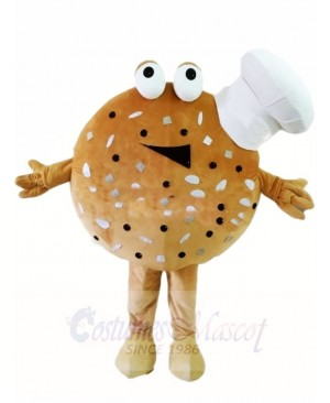 Cookies with Cook Chef Hat Dessert Mascot Costumes Food