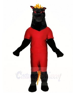 Black Stallion Horse Mascot Costumes Animal