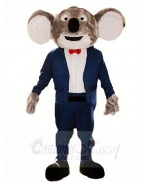 Blue Suit Koala Bear Mascot Costumes Animal