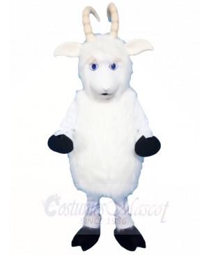 White Goat Mascot Costumes Animal