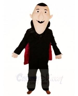 Count Dracula Vampire Mascot Costumes People