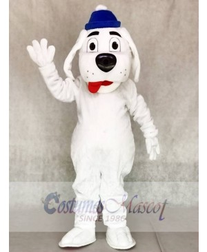 Slush Puppie Dog with no Shirt Mascot Costumes Animal