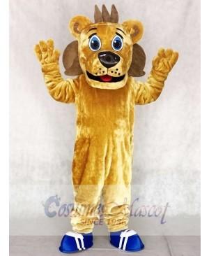 Sports Coaching Lion Mascot Costumes Animal