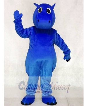 Blue Baby Hippo Mascot Costumes Animal