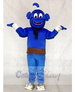 Blue Genie Mascot Costumes from Shimmer and Shine