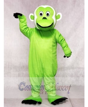 Green Bearded Monkey Mascot Costumes Animal