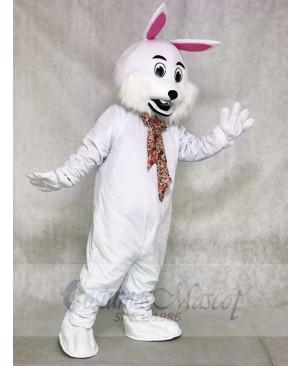 White Rabbit Easter Bunny Mascot Costumes Animal