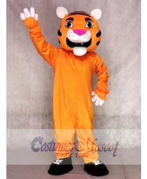 Orange Tiger Mascot Costumes Animal