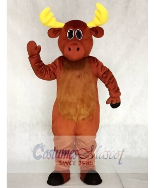 Cute Milton Moose Christmas Mascot Costumes Animal