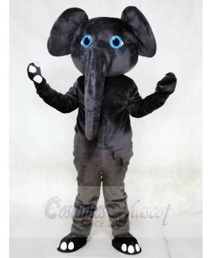 Gray Elephant Grey Mascot Costumes Animal